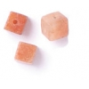 Semi-Precious 4X4mm Cube Aventurine Red